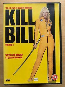 Kill Bill Vol.1 DVD 2003 Tarantino Martial Arts Action Kung Fu Movie Classic