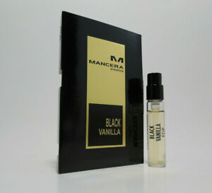 Mancera Paris BLACK VANILLA 2 ml - 0.07 fl oz Vial