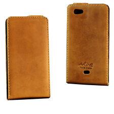 Akira Handmade Leder Handy Schutzhülle Case Cover Wallet Sony Xperia Micro
