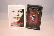 The Silence of the Lambs + Hannibal by Thomas Harris Audio Cassettes Kathy Bates