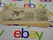The Oregonian-1966- Comic Strips- Clipped- Buz Sawyer- Lot of 30