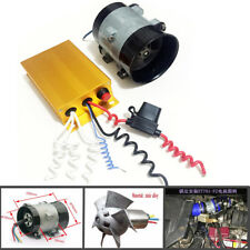 Car Electric Turbine Power Turbo Charger Booster + Contrôleur 16.5 A 52000 tr/min Max