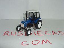"""MTZ-82 BlueBlackWhite  Russian tractor """"Belarus"""" 1/43 scale model. Nowelty!"""