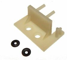 Mini Microswitch Mounting Bracket With Push Nuts For Pinball & Gaming Equipment