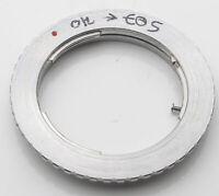 Olympus OM Canon EF / EOS Lens Mount Adapter Objektivadapter