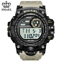 SMAEL Men Watch LED Digital Sport Wristwatch Alarm Chronograph Students Watches