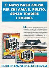 X0274 DASH color - Pubblicità 1992 - Vintage Advert