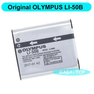 Original Olympus LI-50B Battery For Stylus 1010 1020 1030SW 9000 SZ-30MR  SZ-10