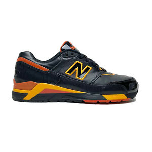 New Balance 820 'Black Citrus' Men's Size 8.5 MR820BO Black / Orange Sneaker