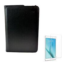 2in1 Set Tasche schwarz + Glasfolie für Samsung Galaxy Tab S2 9.7 Zoll T815N