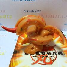 Bakugan Dragonoid Brown Pyrus Reverse Attribute B2 400G & cards