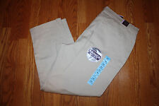 NWT Womens GLORIA VANDERBILT Amanda Dark Vanilla Denim Pants Size 18 Short