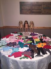 American Girl Lot Dolls Felicity Kailey Kit Clothing Shoes Accessories 70+ Items