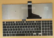 For Toshiba Satellite L70t-A L75-A L75D-A L75t-A Keyboard Belgian Clavier Silver