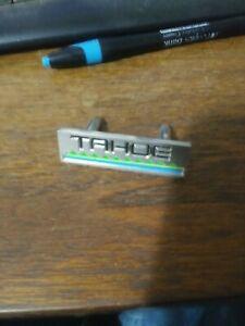 NOS 1982  CHEVROLET TAHOE DASH NAMEPLATE 14044346