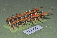25mm medieval / swiss - pikemen 16 figs infantry - inf (21735)
