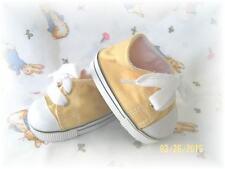 Reborn Doll Low Cut Sneakers Yellow 85 MM ~ REBORN DOLL SUPPLIES