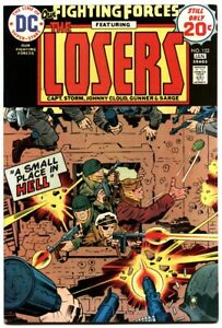 OUR FIGHTING FORCES #152 1975-DC-THE LOSERS-CAPT STORM-JOE KUBERT nm-