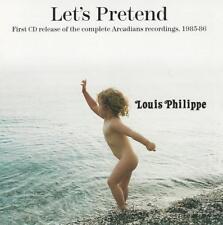 Louis Philippe - Let's Pretend [The Arcadians 1985-86] Japan CD Él artist