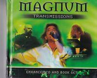 "MAGNUM - TRANSMISSIONS "" CD AND BOOK SET /  "" NEU in OVP VERSCHWEISST #HM03#"