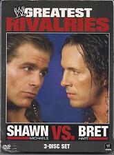 WWEs Greatest Rivalries: Shawn Michaels vs. Bret Hart (DVD, 2011, 3-Disc Set)