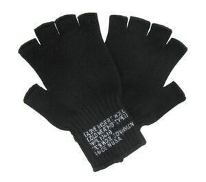 Rothco Fingerless Wool Gloves - 8411