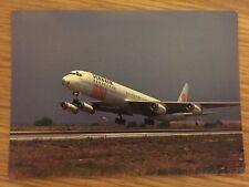 SCANAIR BOEING DC-8 Postcard