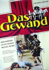 DAS GEWAND Richard Burton WA-Filmplakat A1 GEROLLT RCS-Film 70er Jahre