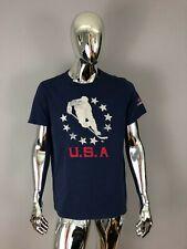 New USA Hockey Navy Graphic T-Shirt Size XL
