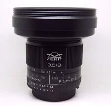 Brand new! Lens Zenitar 8mm f/3.5 Fish-eye for Nikon