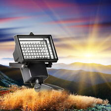 60 LEDs Außen Solarlampe Bewegungsmelder Solarleuchte Gartenlampe Wandlampe NEU