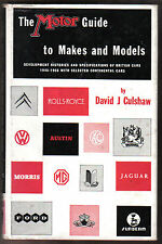 Motor Guide to Makes and Models - Development & Specs of British cars 1945-56