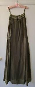 Day birger et mikkelsen Green Cotton Maxi Dress 36 Vgc
