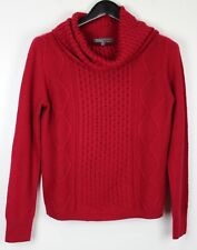 89TH & MADISON Women's Turtleneck Sweater Red Size M
