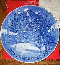 "New Listing2005 Bing & Grondahl Christmas 9"" Jubilee Plate Christmas in Copenhagen Nib B&G"