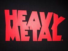 T-SHIRT HEAVY METAL MAGAZINE SCIENCE FICTION MOVIE - RETRO