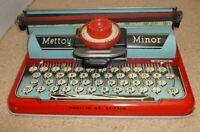 Mettoy Minor 1950's Vintage Typewriter Tinplate - Manufactured In England