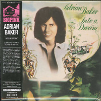 ADRIAN BAKER-INTO A DREAM-IMPORT MINI LP CD WITH JAPAN OBI Ltd/Ed G09