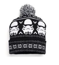 Star Wars Stormtrooper Beanie With Pom One Size Fits Most-Adult 739ea64c57f9