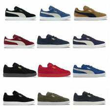 Suede Athletic Trainers for Men