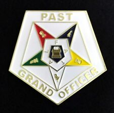 Eastern Star Past Grand Officer Car Auto Emblem (ESA-PGO)