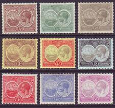 Bermuda 1920 SC 55-60, 67-69 MH Set Tercentenary