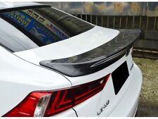 Carbon Lexus IS250 IS200t IS300h Trunk Deck Lip Spoiler TRD Type 2014+