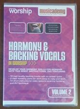 Musicademy Harmony & Backing Vocals In Worship Volume 2 dvd NEW Music Academy