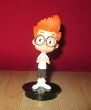 Toy Mr Peabody & Sherman Movie Sherman Plastic Figure Black Base 3 1/2''