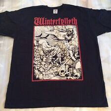 WINTERFYLLETH Shirt XL, Azarath, The Chasm,  Urgehal, Urfaust, Inquisition