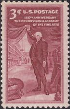 USA 1955 Postage Stamp - Pennsylvania Academy of the Fine Arts - MNH -- Sc.#1064