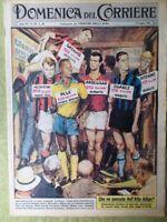 La Domenica del Corriere 9 Luglio 1961 Pelè Satellite Morte Hemingway Alto Adige