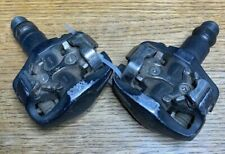 """Shimano PD-M535 Mountain Bike Clipless Bicycle Pedals -Black/Silver- (9/16"""")"""