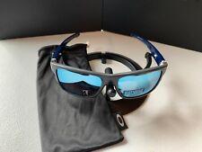 Oakley; CROSSRANGE Sunglasses MINT OO9361-0957 Gray/Blue Przm Deep H2O Polarized
